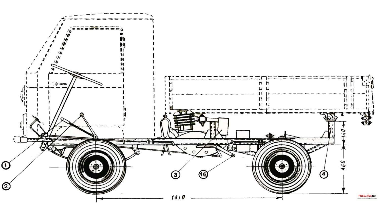 Сделать грузовик своими руками