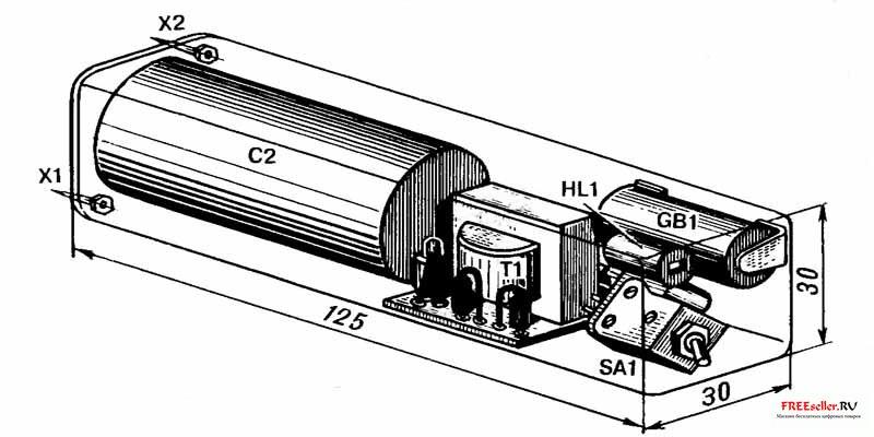 Гальванический электрошокер