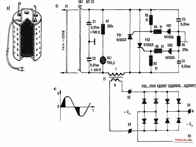 Схема тиристорный сварочный аппарат фото 975