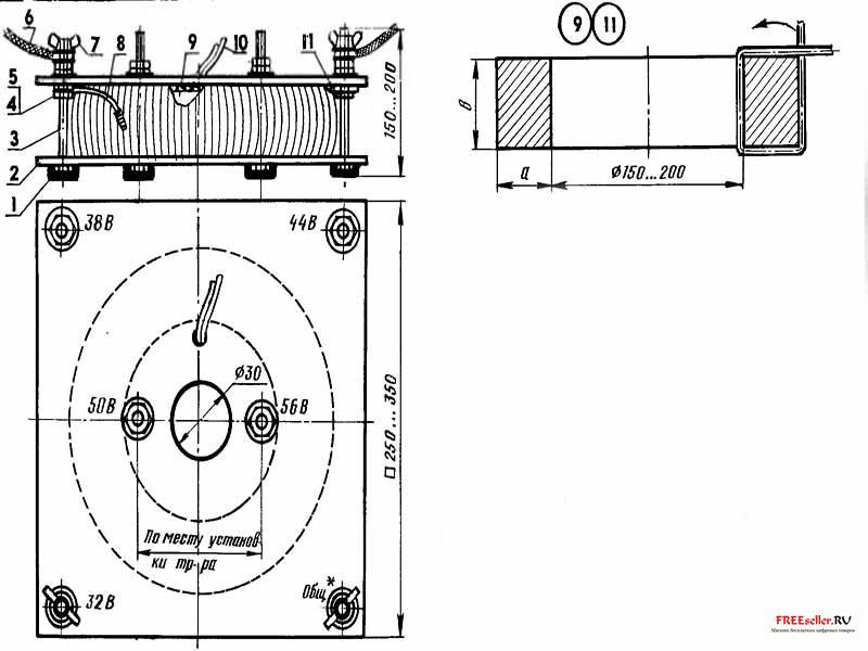 Сварочный трансформатор - без