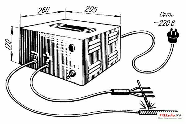 Сварочный аппарат постоянного тока своими руками