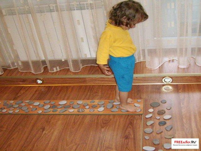 Коврик для ног для ребенка своими руками фото