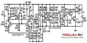 Миноискатель на 7 транзисторах