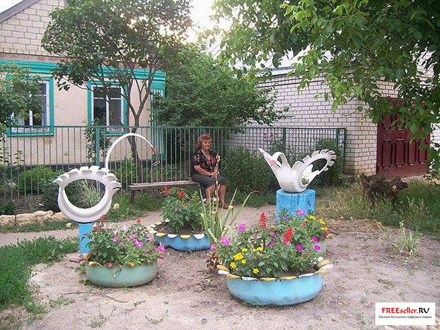 Фото поделки для сада своими руками