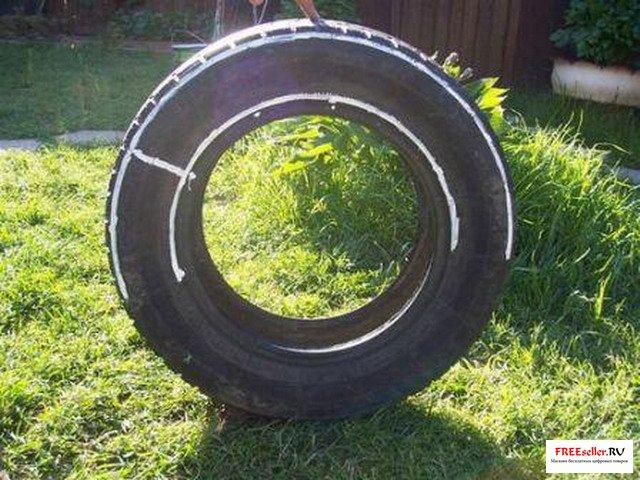 Как сделать колесо из покрышки