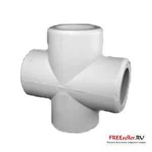 Крестовина для соединения полипропиленовых труб
