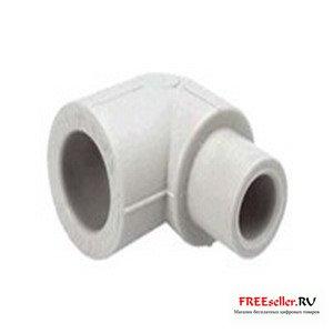 Угольник 90° для соединения полипропиленовых труб разного диаметра