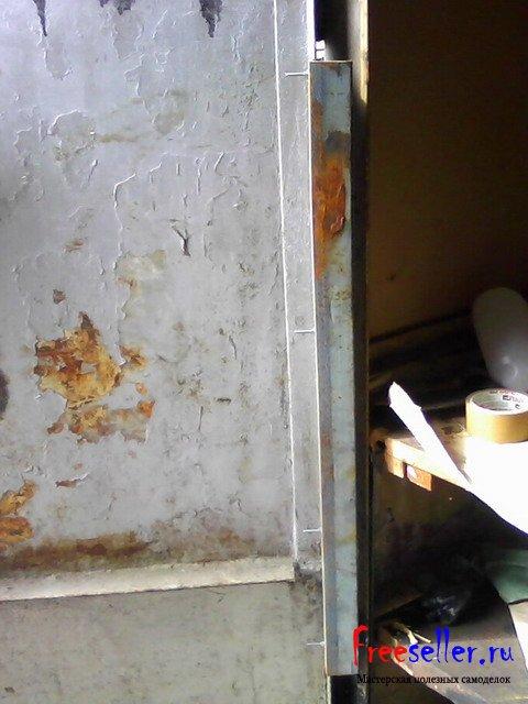 Изготовление приспособления для защиты гаража от взлома при срезе