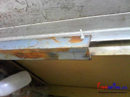 Как защитить гараж от взлома при срезе петель