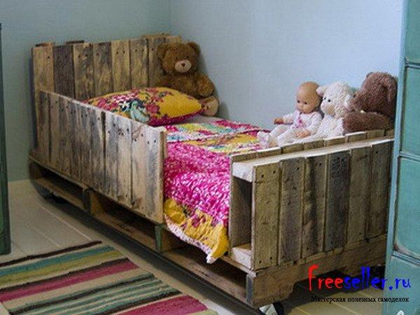 Как сделать кровать детскую