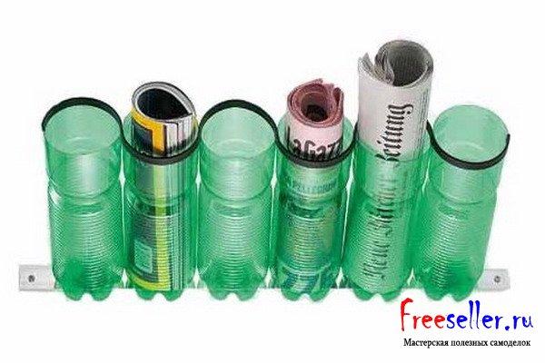 Метелка из пластиковых бутылок своими руками
