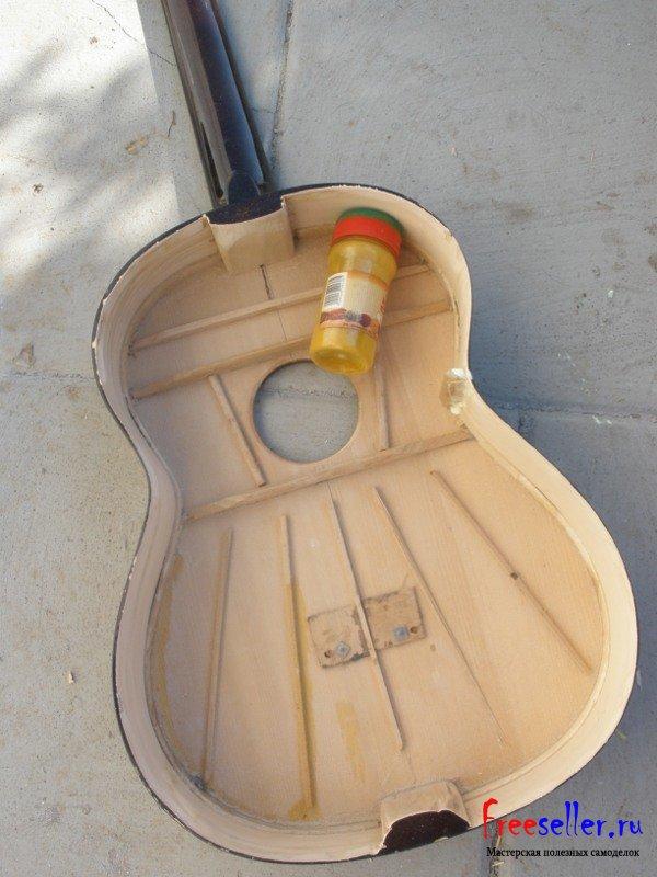 Реставрация гитар своими руками
