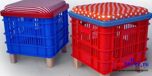 Как сделать пластиковый ящик