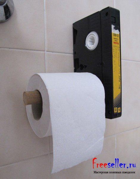 Своими руками держатель туалетной бумаги