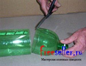 Как сделать ершик из пластиковой бутылки