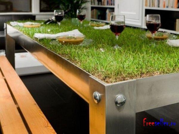 Домашний столик для пикника своими руками