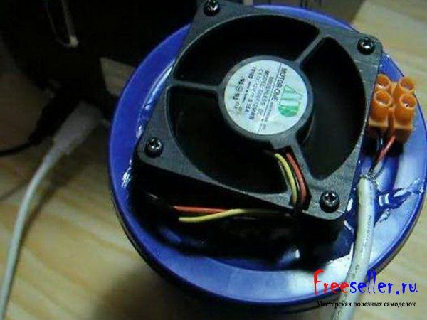 Самодельный USB кондиционер