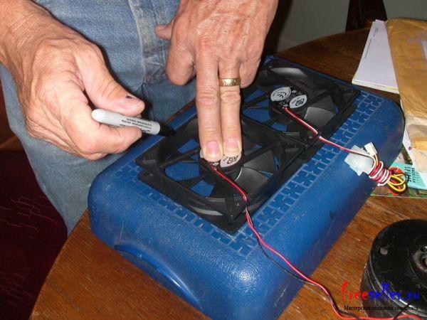 Изготовление портативного автокондиционера своими руками