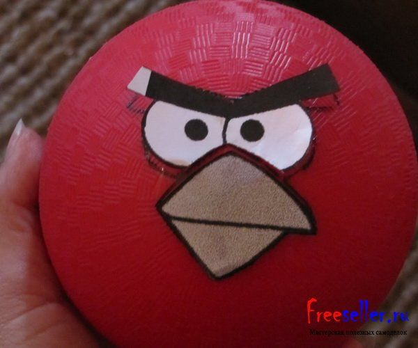 ����������� ������� � ����� Angry Birds