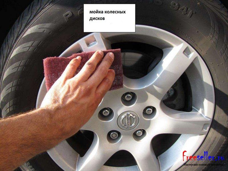 Чем покрасить диски своими руками не снимая