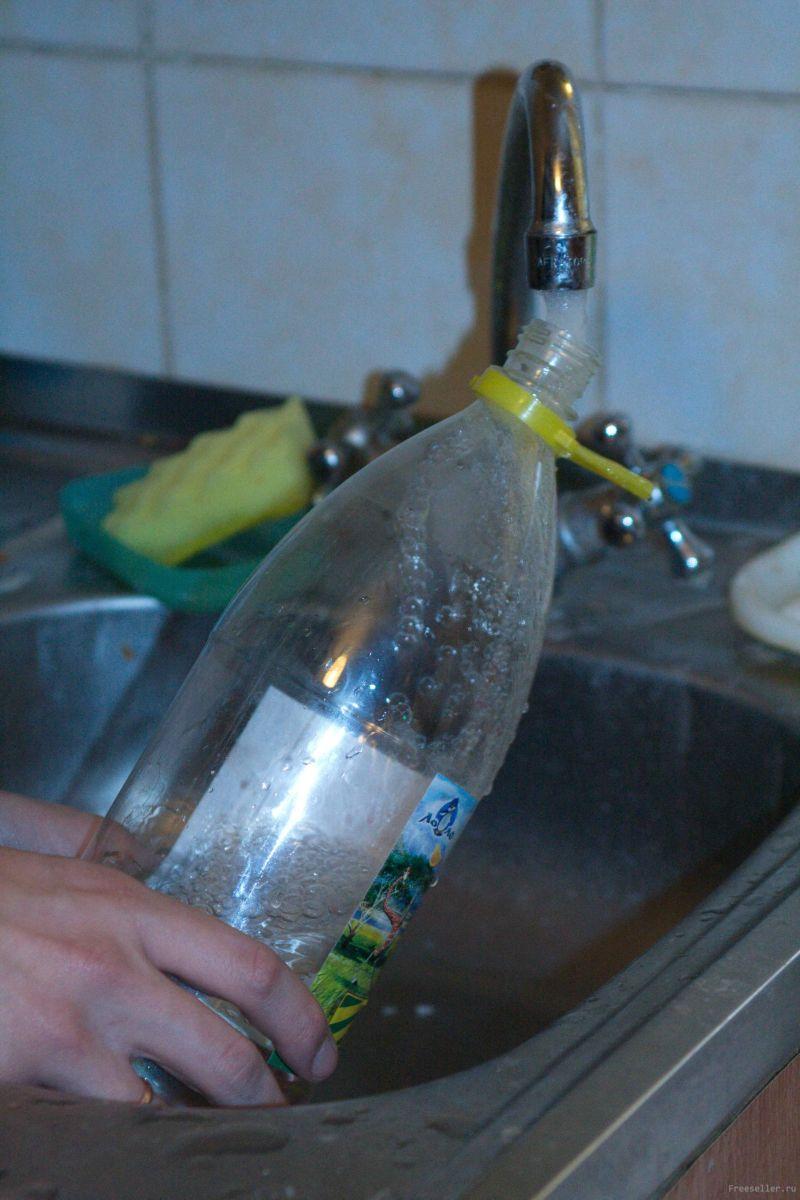 Как сделать фонтан из бутылки фото 160