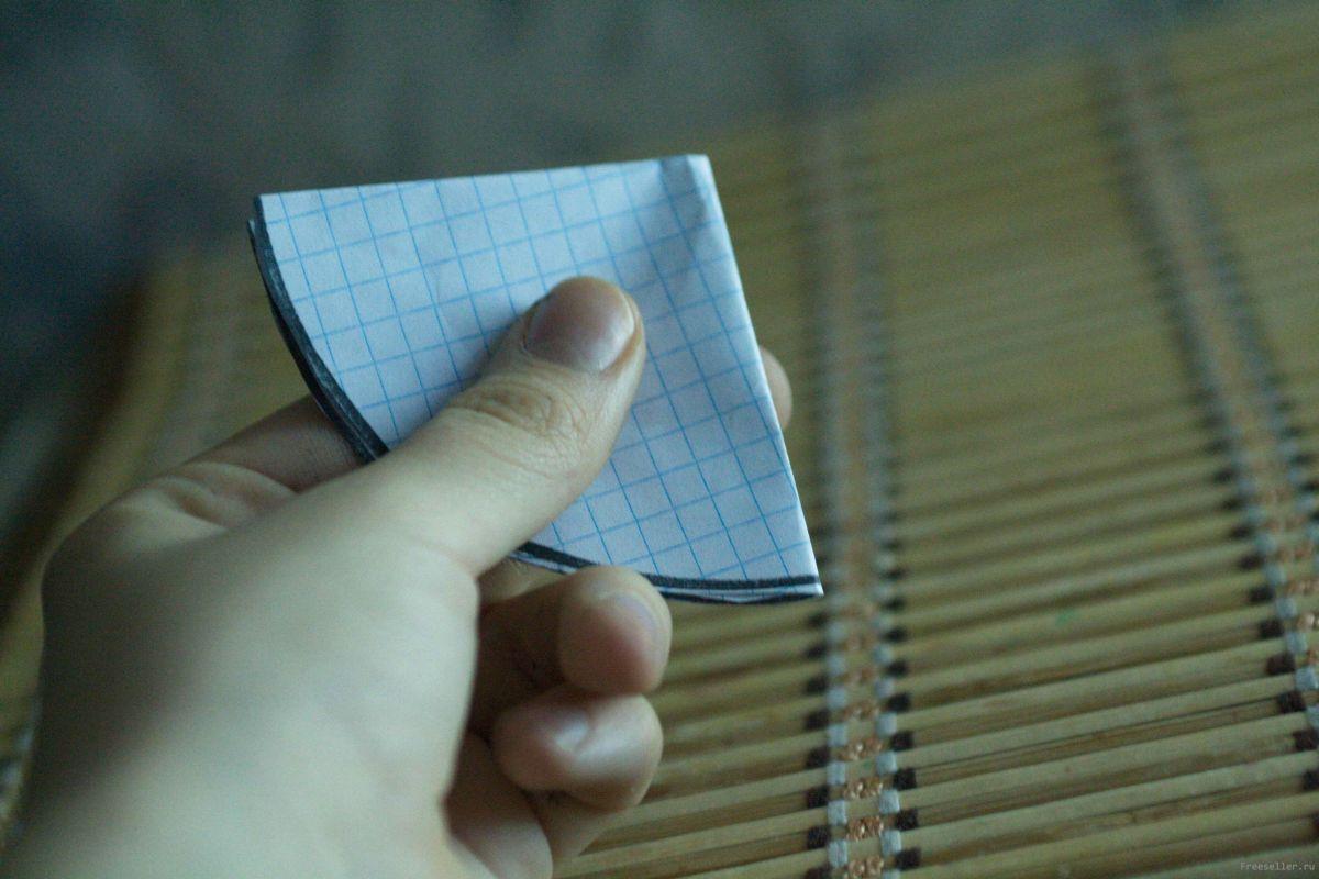 Объёмная елочка из бумаги своими руками