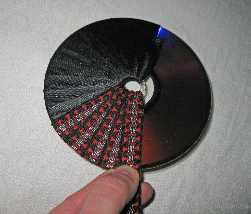 Подставки для кружек из дисков