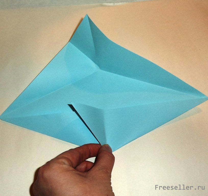 Попугай ара (оригами) .