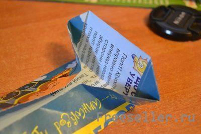 Коробочка пирамидка своими руками