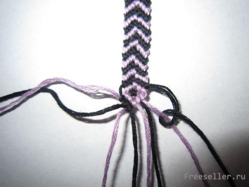Плетеный браслет (фенечка)