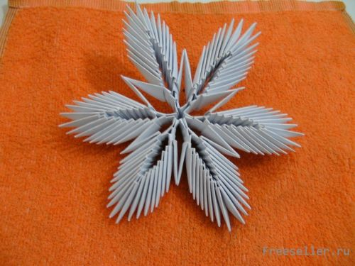 Оригами из модулей