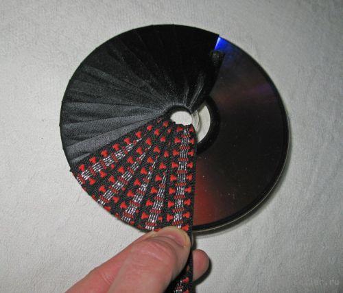 Подставки под горячее из сд дисков своими руками