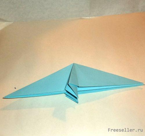 Попугай ара (оригами)
