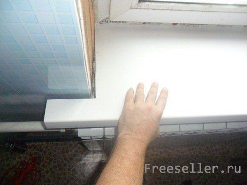 Пластиковые подоконники своими руками видео фото