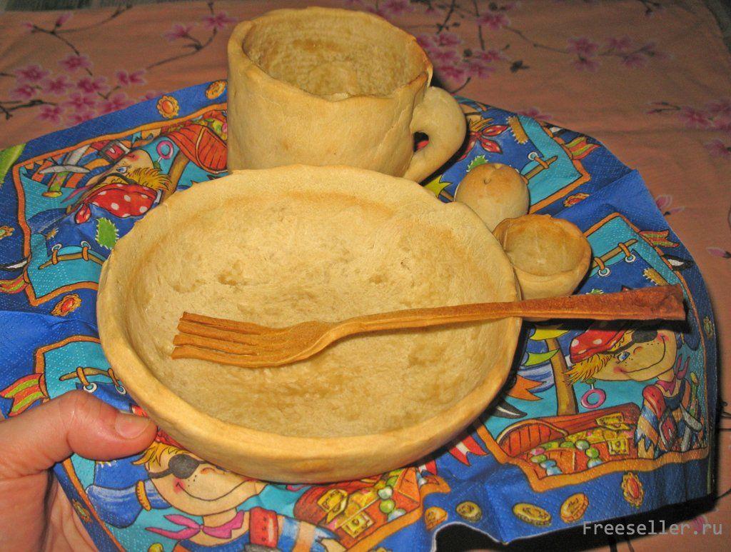 Посуда съедобная как сделать