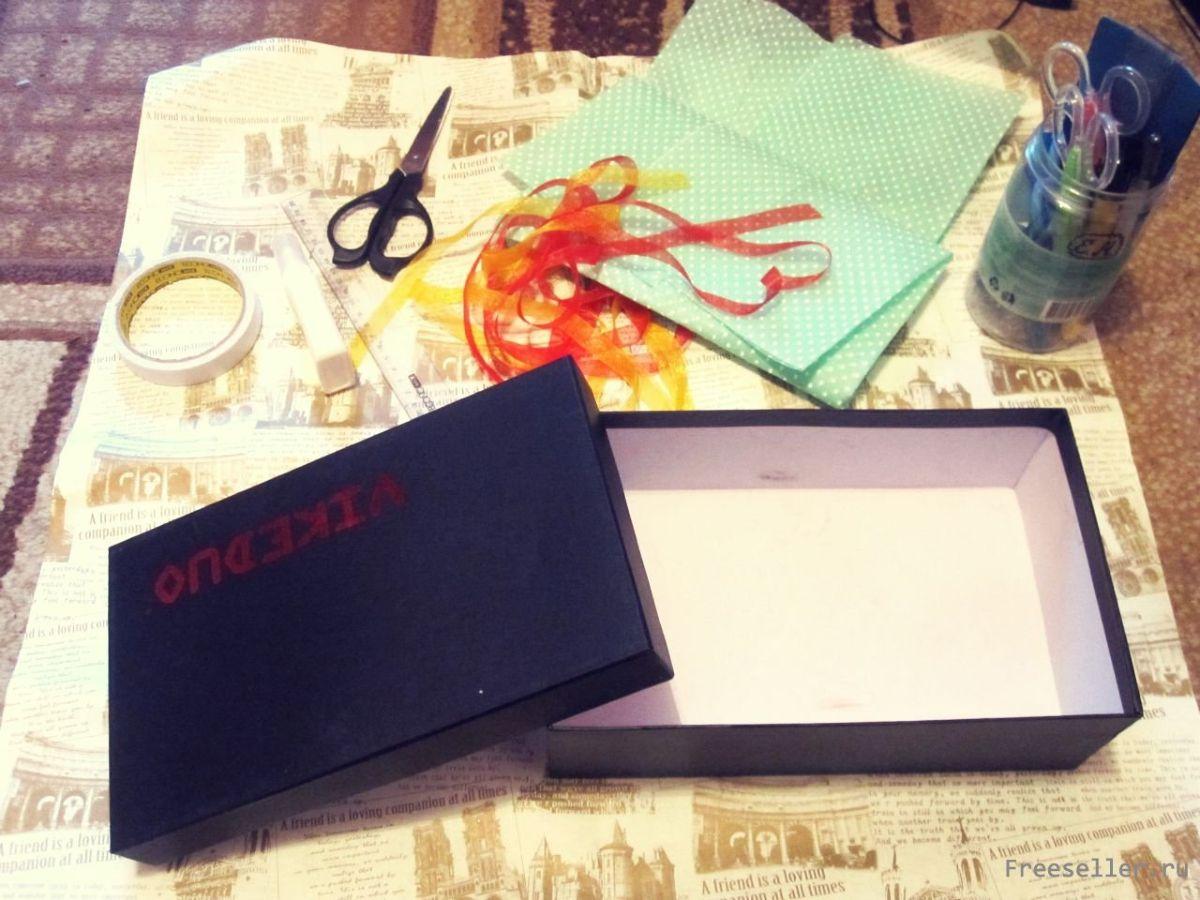 Коробка со сладостями ко дню Святого Валентина