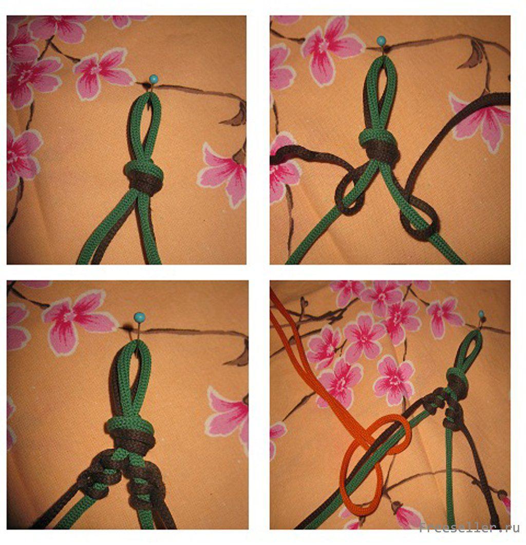 Подвеска своими руками из шнура