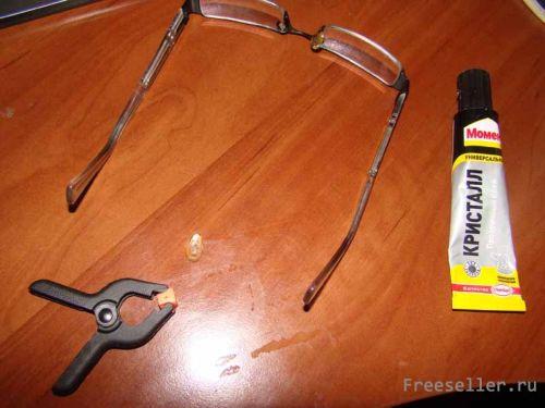 Ремонт оправ для очков своими руками