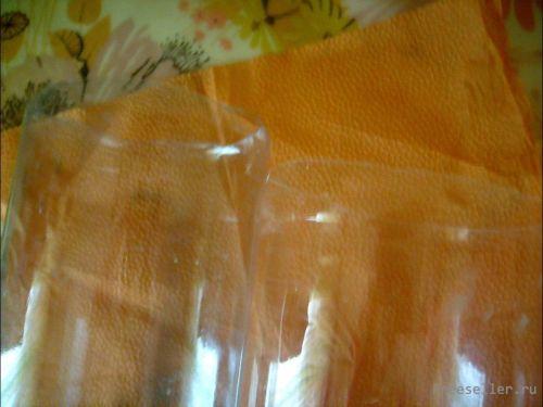 Контейнер для макаронных изделий из пластиковых бутылок.