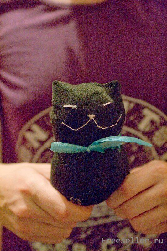 Чёрный кот своими руками 69