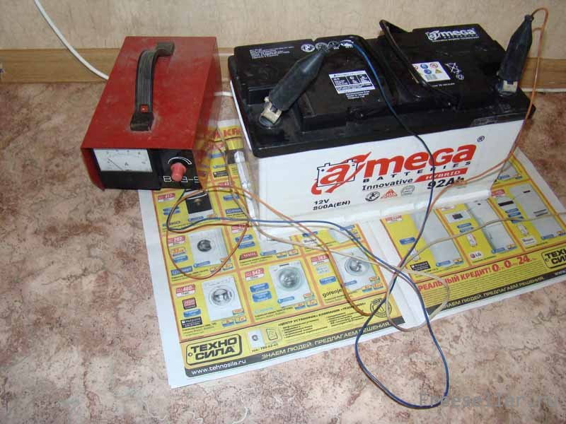 Восстановление автомобильных аккумуляторов в домашних условиях