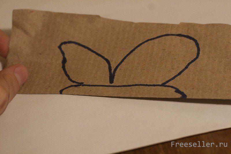 Как сделать бабочку для декора своими руками на стену фото 866