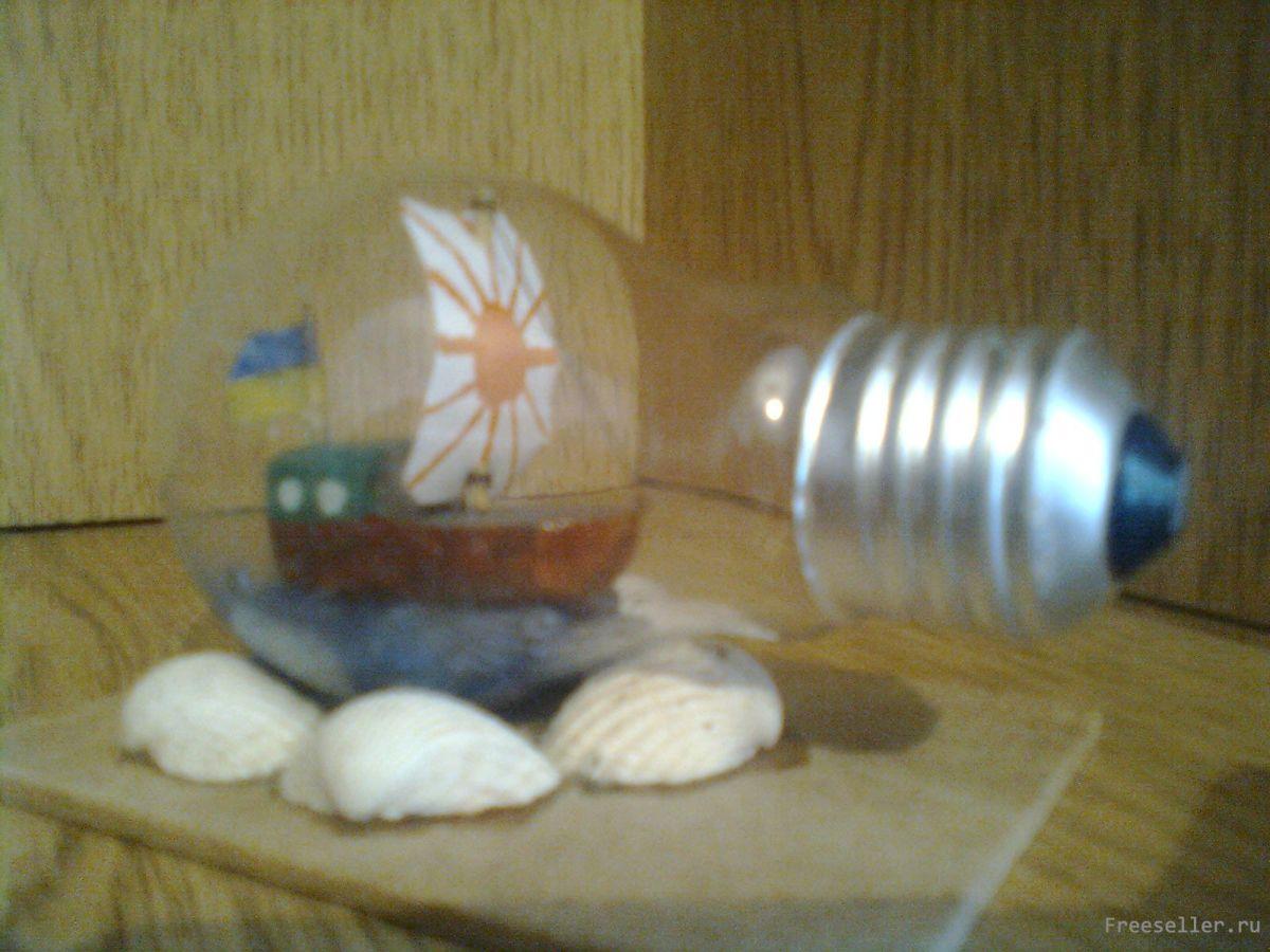 Подарок из лампочки своими руками