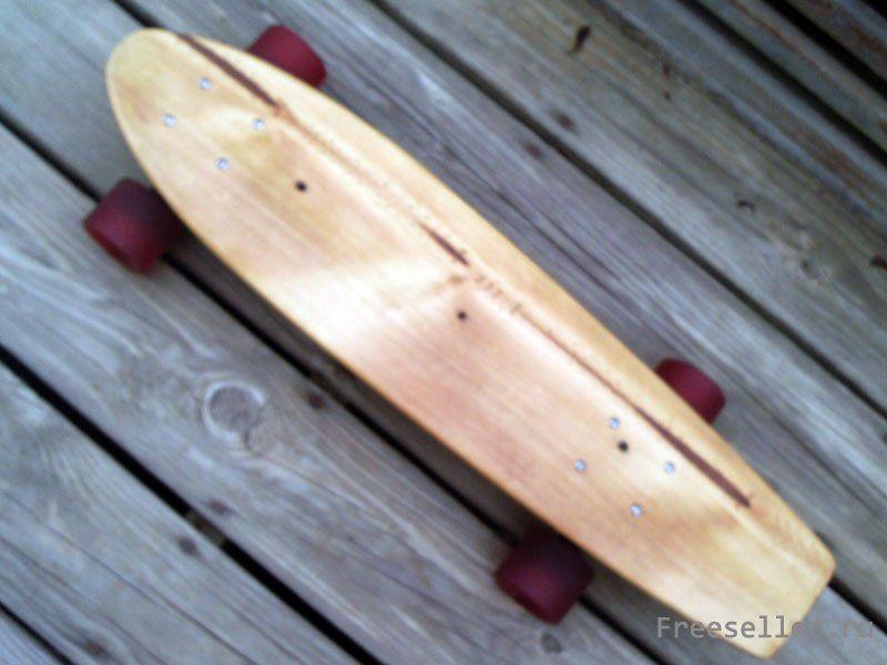 Как сделать скейтборд из дерева
