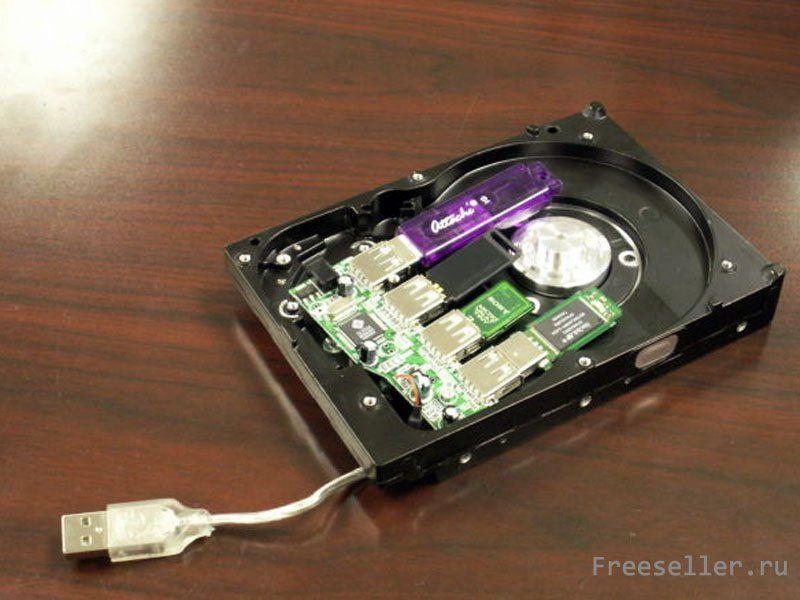 Как сделать жесткий диск