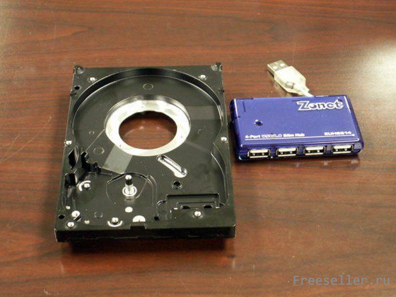 Как из жесткого диска сделать внешний диск