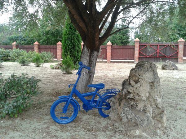 Велосипед-декор