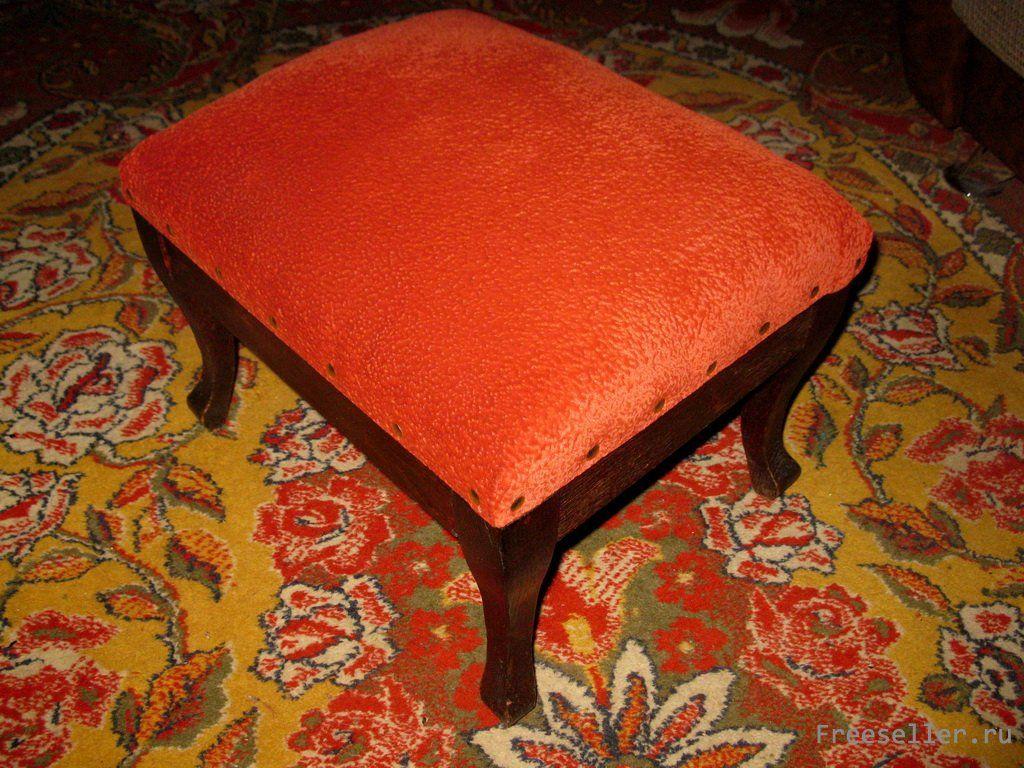 Мебельный пуфик своими руками