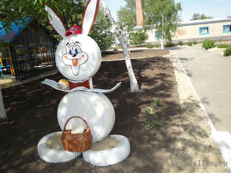 Заяц своими руками с сад 161
