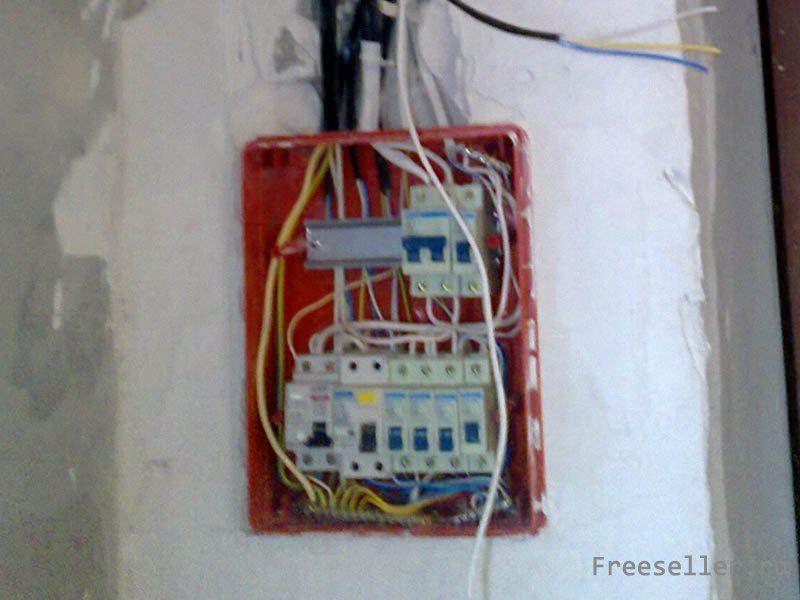 Сборка электрощитка для гаража своими руками